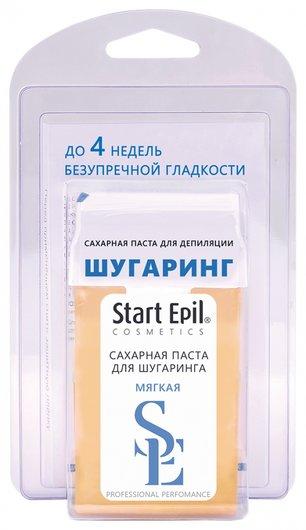 """Набор для шугаринга (сахарная паста в картридже """"Мягкая"""" 100 г. + бумажные полоски)  Start Epil"""
