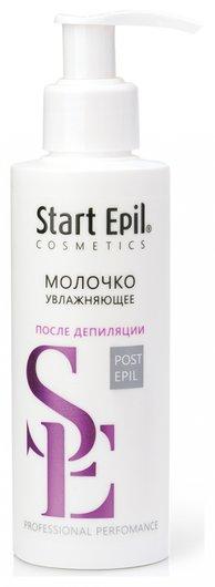 Увлажняющее молочко с экстрактом белого лотоса и протеинами шелка  Start Epil