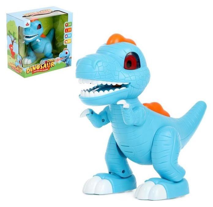 Динозавр Dino работает от батареек, эффект дыма, световые и звуковые эффекты NNB