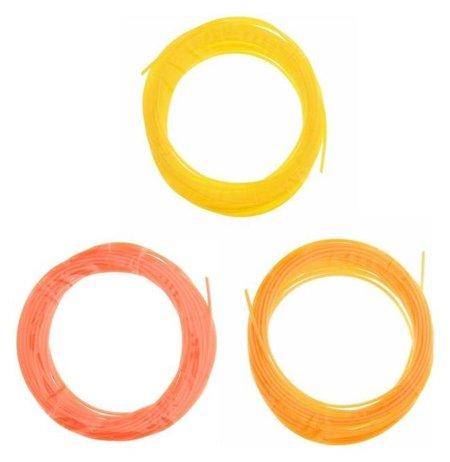 Пластик PCL для 3D ручки, длина: 5 м, цвета желтого  NNB
