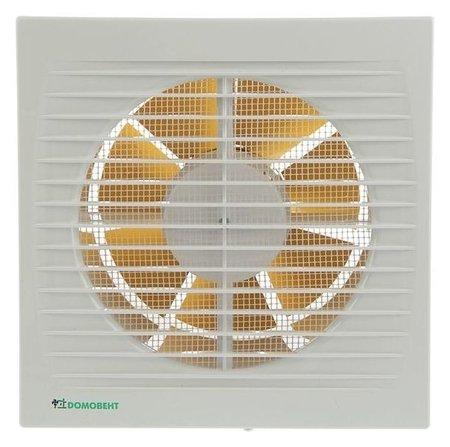Вентилятор вытяжной Домовент 150 С, D=150 мм, 220-240 В, белый Домовент