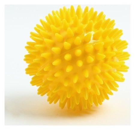 Мяч массажный ø8 см., цвет желтый КНР