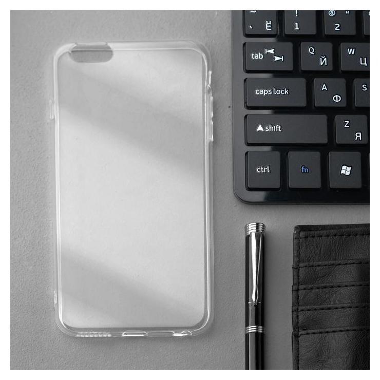 Чехол Innovation, для Iphone 6 Plus, силиконовый, прозрачный Innovation
