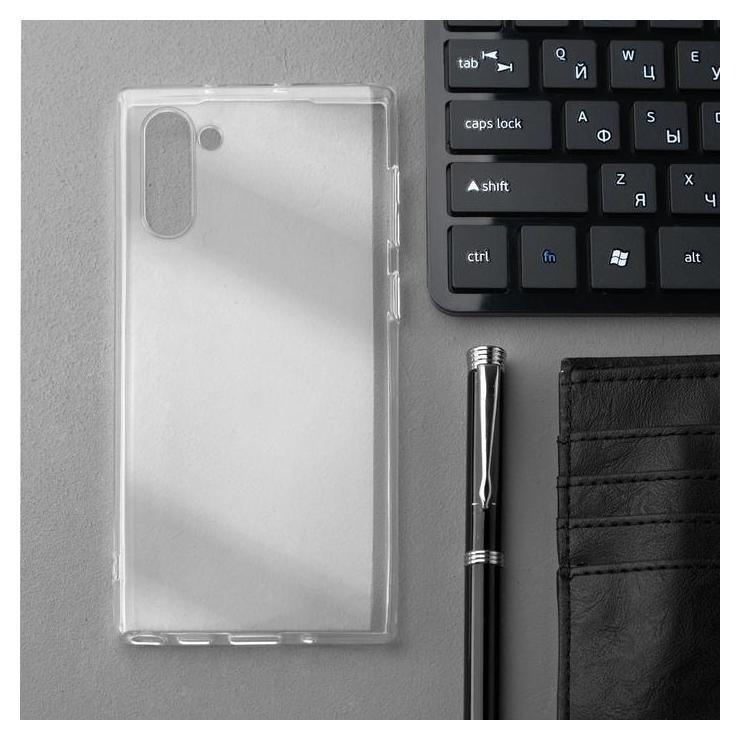 Чехол Innovation, для Samsung Note 10, силиконовый, прозрачный Innovation