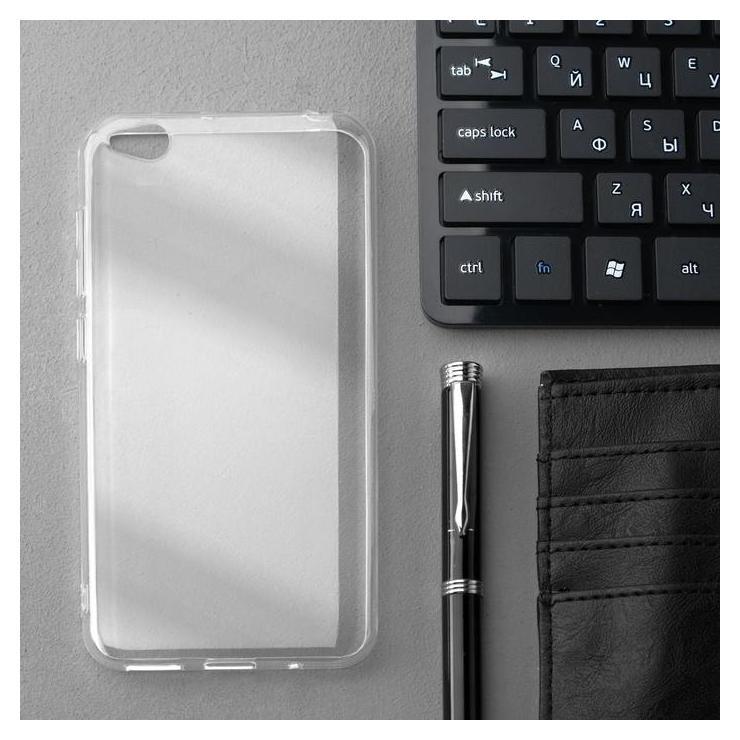 Чехол Innovation, для Xiaomi Redmi GO, силиконовый, прозрачный Innovation