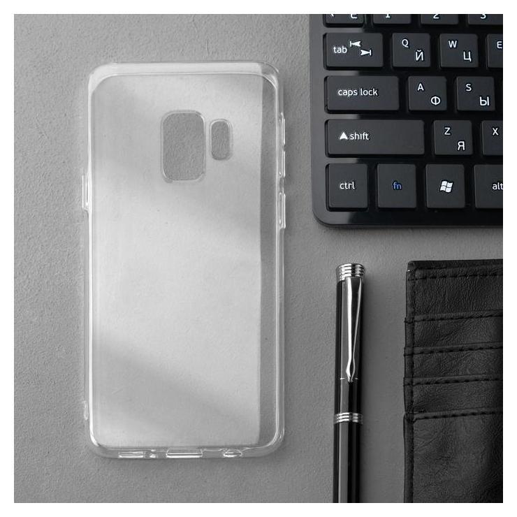 Чехол Innovation, для Samsung S9, силиконовый, прозрачный Innovation
