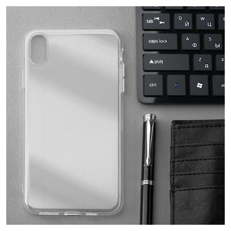Чехол Innovation, для Iphone XS Max, силиконовый, прозрачный Innovation