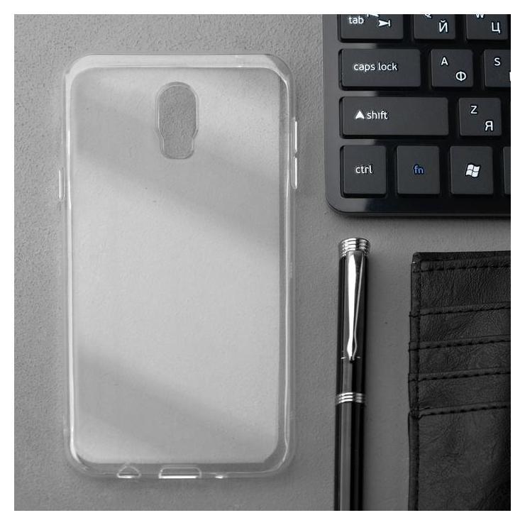 Чехол Innovation, для Samsung C8, силиконовый, прозрачный Innovation