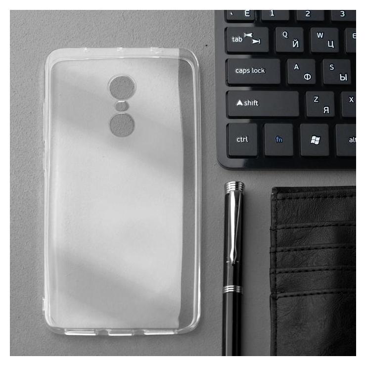 Чехол Innovation, для Xiaomi Redmi Note 4, силиконовый, прозрачный Innovation