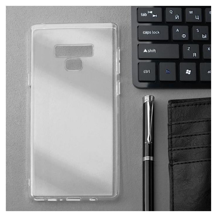 Чехол Innovation, для Samsung Note 9, силиконовый, прозрачный Innovation