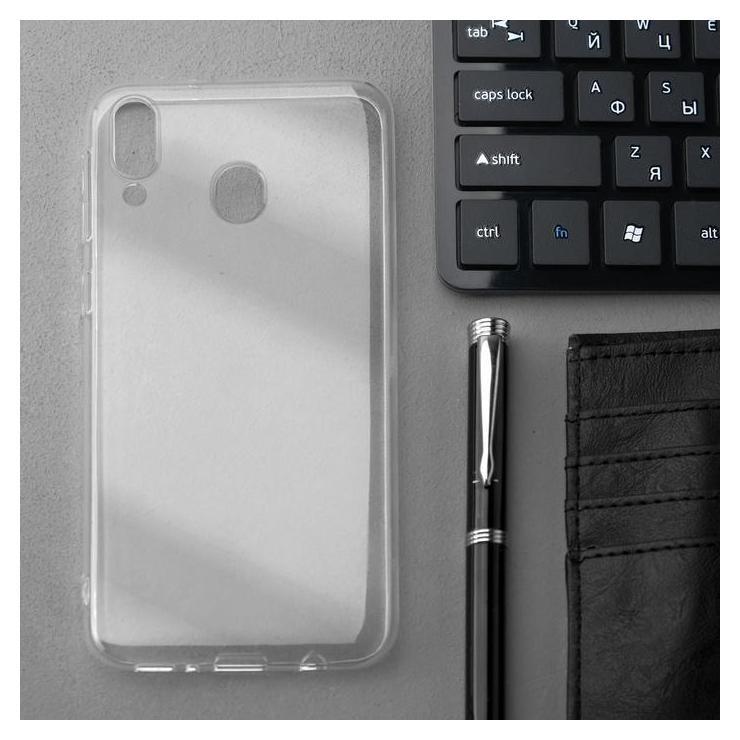 Чехол Innovation, для Samsung M20, силиконовый, прозрачный Innovation