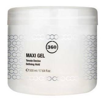 Гель для волос сильной фиксации Maxi GEL  360