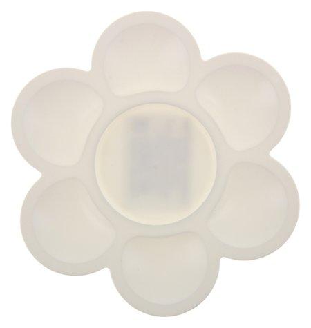 Палитра «Цветочек», белая  Луч
