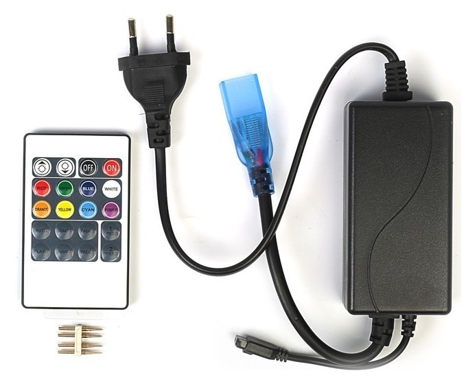 Контроллер для светодиодной RGB ленты Smd5050, 220 В LuazON