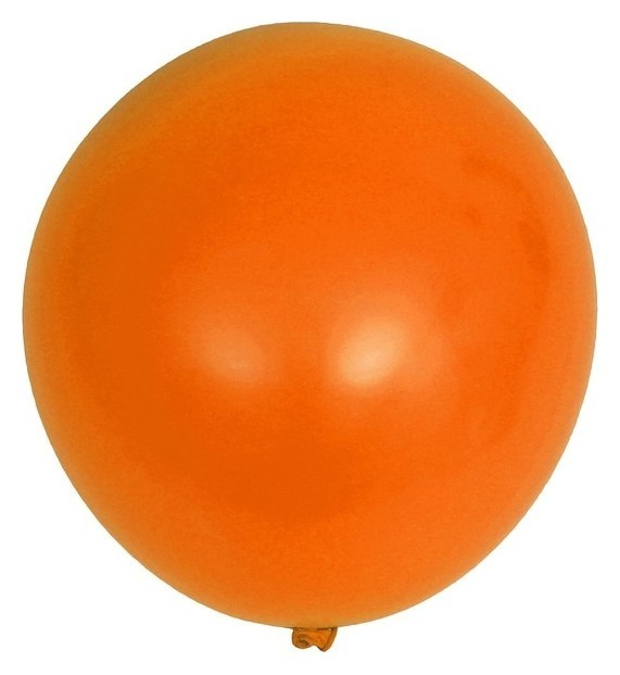Шар латексный 36 «Гигант», 1 шт., цвет оранжевый NNB