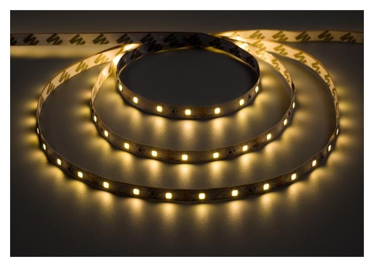 Комплект светодиодной ленты Luazon Lighting, 3м, 60smd-2835/м, 6вт/м, Ip20, 12v, т.белый LuazON