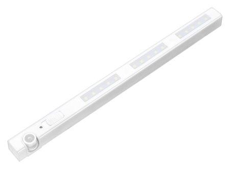 Светильник мебельный светодиодный 4 Вт, 15 Led, датчик движения, 6500k, 3xaaa ( не в компл ) NNB