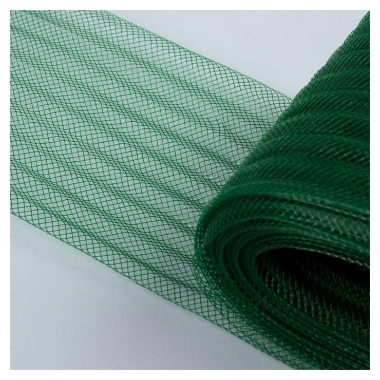 Регилин плоский, гофрированный, 70 мм, 5 ± 0,5 м, цвет зелёный NNB