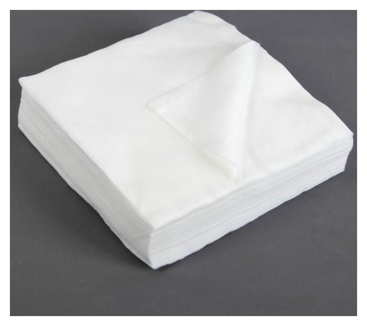 Салфетки косметические, плотность 50г/м2, спанлейс, 20 × 20 см, 100 шт  NNB