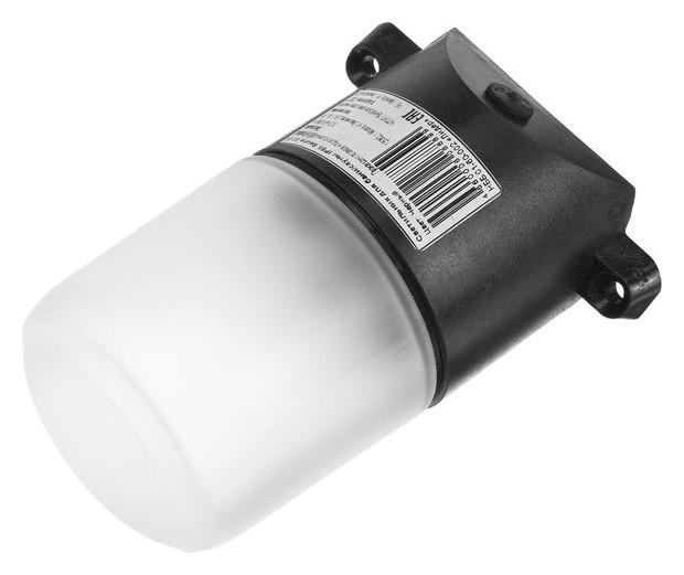 Светильник для бани/сауны Italmac Sauna 02 02, 60вт, Ip65, е27, наклонный, черный +125°c Italmac