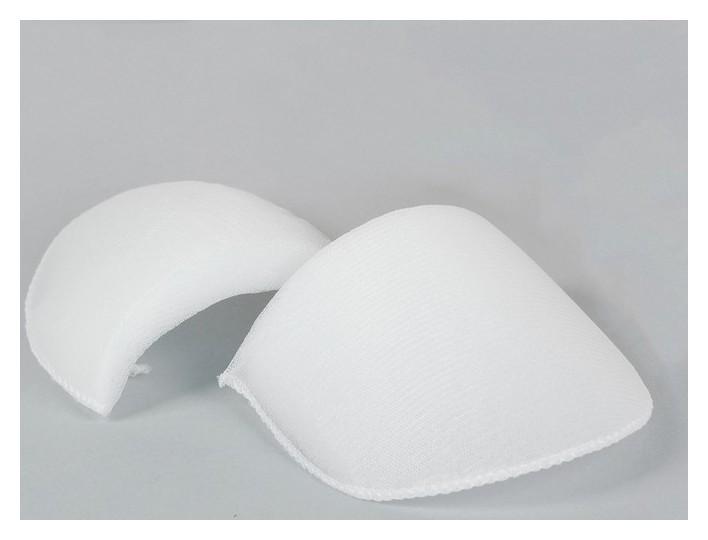 Подплечники втачные, обшитые, 10 пар, цвет белый, в(Ов)-16 Gamma