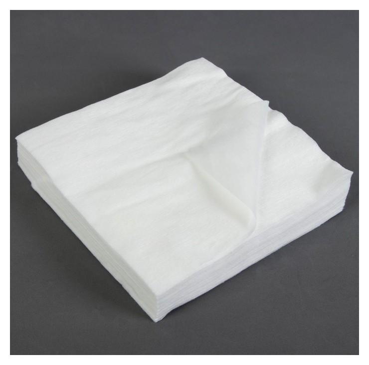 Салфетки косметические, плотность 40г/м2, 20 × 20 см, 100 шт NNB