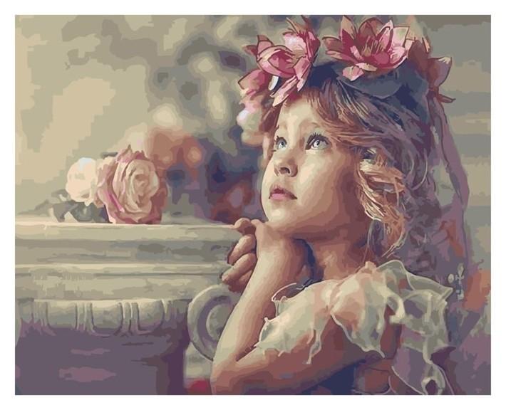 Картина по номерам «Все дети – ангелы» Paintboy