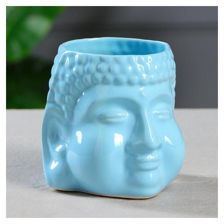 """Кашпо """"Будда"""" 1,3 л, цвет голубой  Керамика ручной работы"""