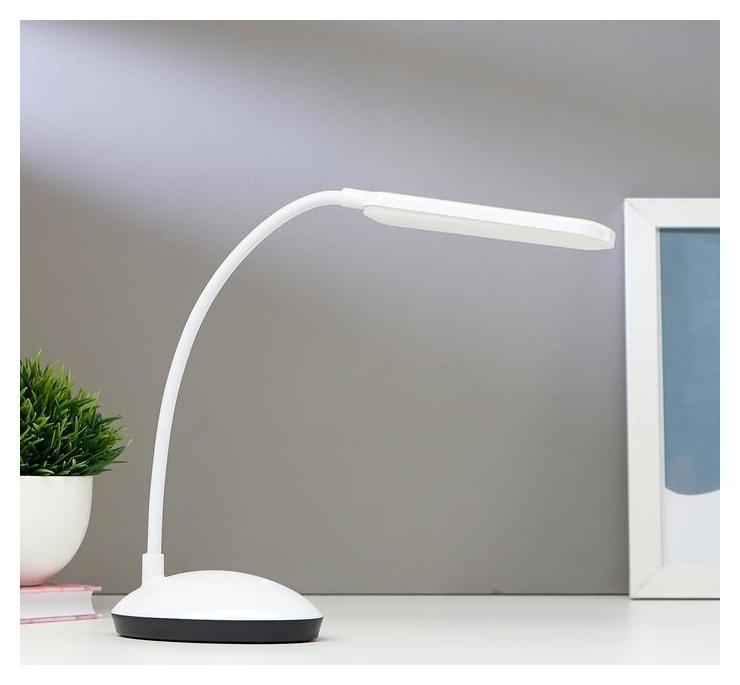 Лампа настольная 16104/1 LED 2Вт USB АКБ 3 режима белый 6,3х11х39 см КНР