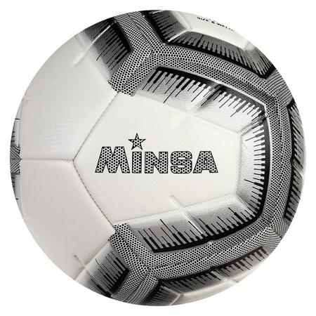 Мяч футбольный Minsa, размер 5, 12 панелей, Tpe, 3 подслоя, машинная сшивка, 400 г  Minsa