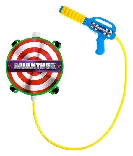 Водный пистолет «Защитник», ранец-баллон  Woow toys