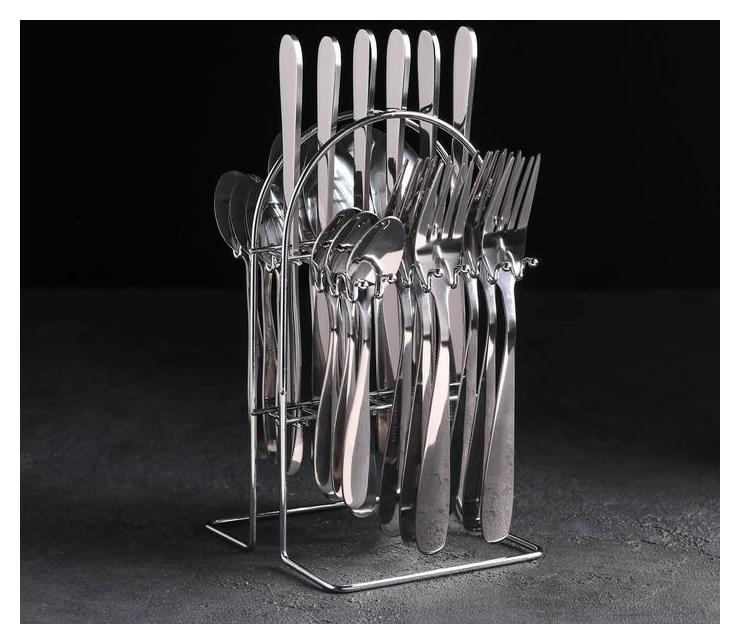 Набор столовых приборов «Французский завтрак», 24 предмета, на 6 персон, в коробке NNB
