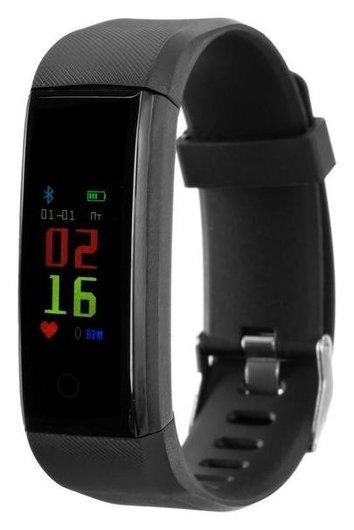 """Фитнес-браслет Ritmix Rfb-410, 0.96"""", цветной дисплей, пульсомер, оповещения, 90 мач, чёрный  Ritmix"""