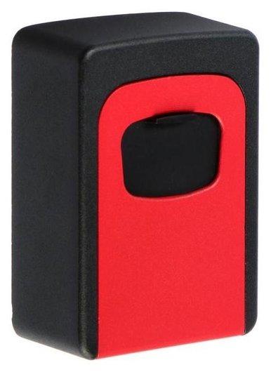 Ключница с кодовым замком, красная  NNB