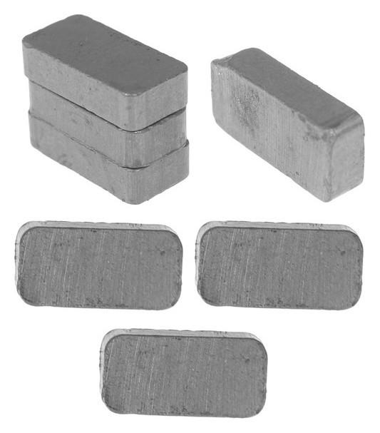 Магнит Прямоугольник набор 7 шт, размер 1 шт. 2×1 см NNB