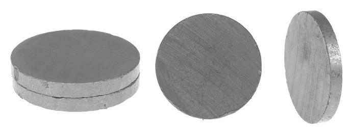 Магнит Круг набор 4 шт, размер 1 шт. 2,5 см NNB