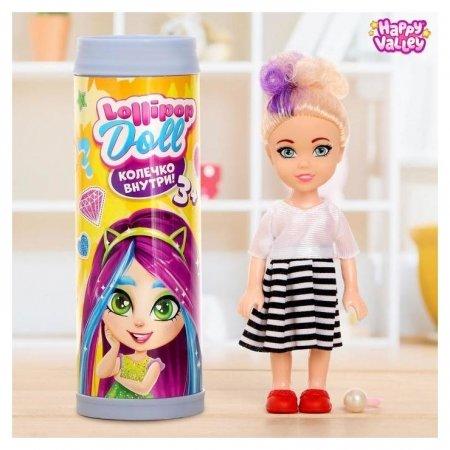Куколка-сюрприз Lollipop Doll с колечком Happy Valley