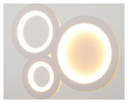 Бра 671225b/1 LED 22вт 3000-4000к белый 30х4,5х23 см BayerLux