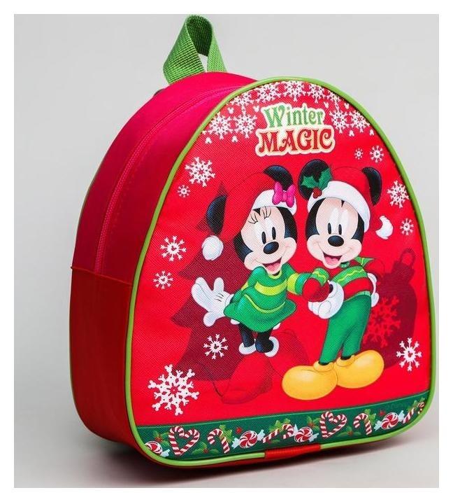 Рюкзак детский Winter Magic микки маус и друзья 23*20.5 см Disney