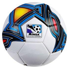 Мяч футбольный Minsa, размер 5, 32 панели, Tpu, 3 под слоя, машин сшивка 320 г