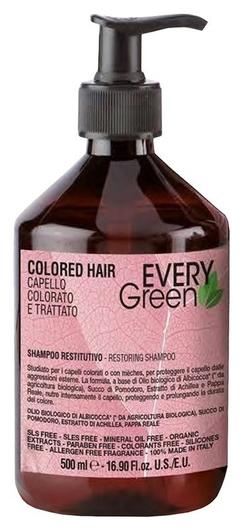 Органический безсульфатный восстанавливающий шампунь для окрашенных волос Colored Hair Restorative Shampoo   Dikson