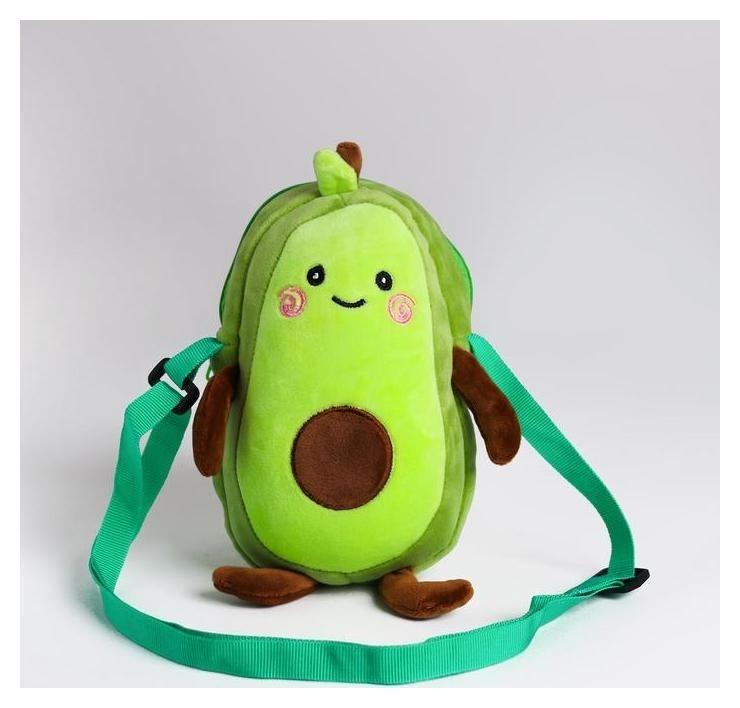 Сумка из плюша Avocado  NNB