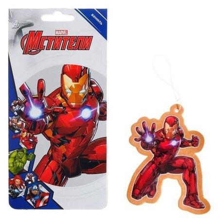 Ароматизатор подвесной Marvel железный человек, ваниль  Marvel
