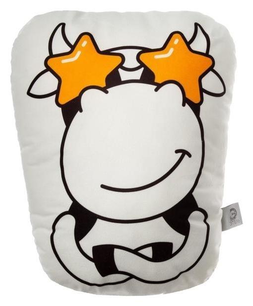 Подушка декоративная этель Star Cow, 42х34 см, велюр, 100% п/э Этель