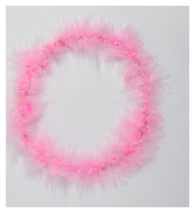 Карнавальный ободок «Нимб», цвет розовый NNB
