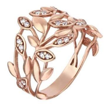 Кольцо Соцветие позолота, размер 17 Алмаз-холдинг