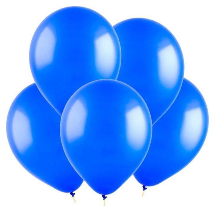Шар латексный 9, пастель, набор 100 шт., цвет синий Веселуха