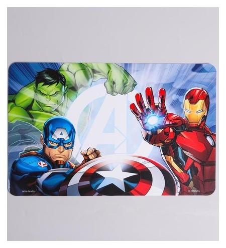 """Коврик для лепки """"Мстители"""" Marvel, размер 19*29,7 см  Marvel"""