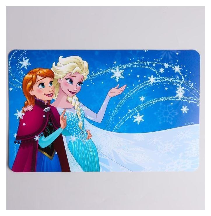Коврик для лепки холодное сердце, формат А4  Disney