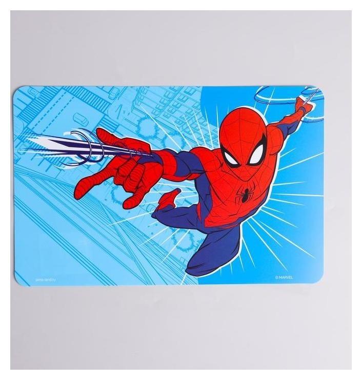 Коврик для лепки человек-паук, синий,формат А4  Marvel